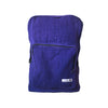 fair trade purple gehri cotton square hippy rucksack from Nepal