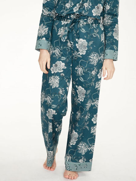 Ellis Organic Cotton Printed Pyjama Trousers
