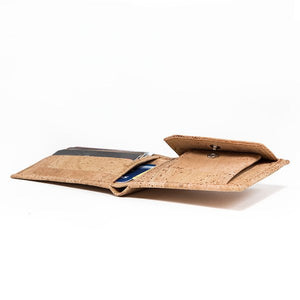 Cork Wallet-Coin Combo Vegan Gift - Cork by Design