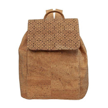 Load image into Gallery viewer, Cork Small Backpack Bucket Style - Cork by Design