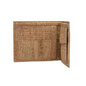 Cork Wallet-Coin Combo Vegan Gift