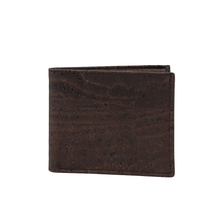 Load image into Gallery viewer, Cork Wallet-Coin Combo Vegan Gift Brown - Cork by Design
