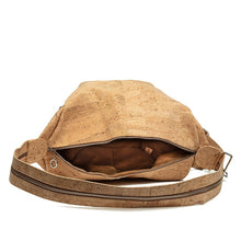Load image into Gallery viewer, Convertible Shoulder Bag to Collapsible Backpack Natural Cork by Design