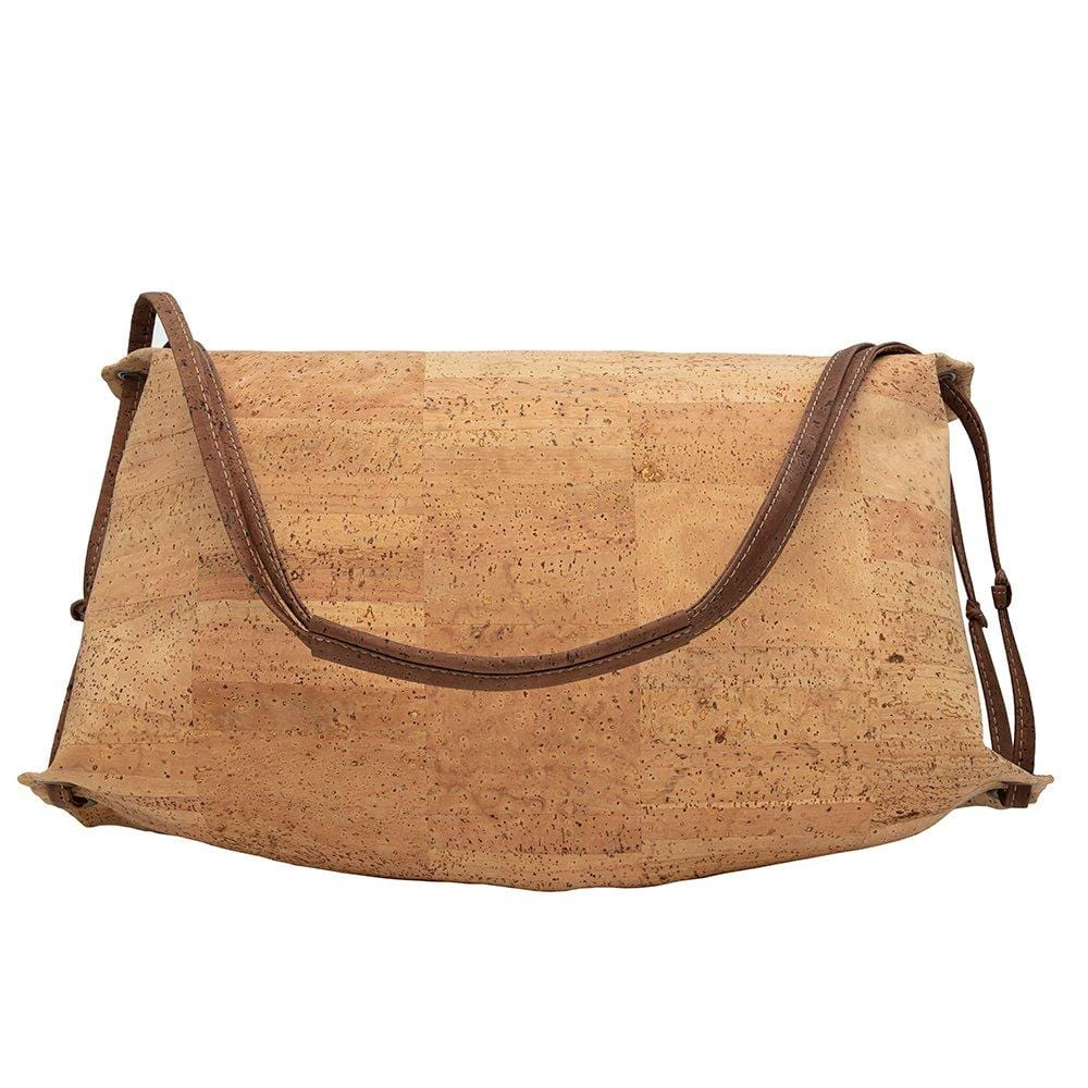 Half Moon Cork Shoulder Bag - Best Seller - Cork by Design