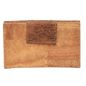 Cork Wallet Large Brown Natural - Cork by Design