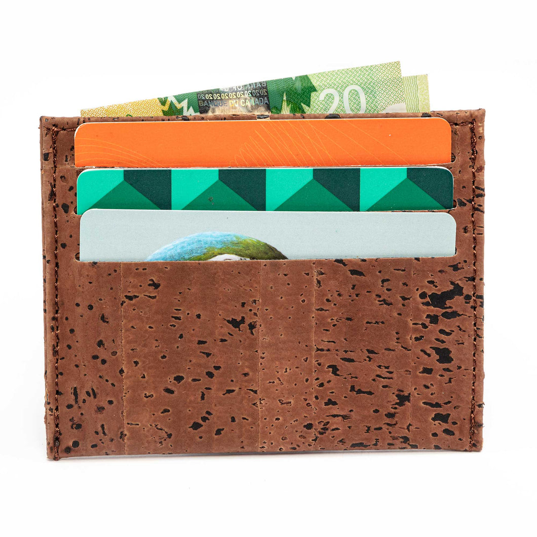 Minimalist Wallet Front Pocket Thin Card Holder Vegan Gift