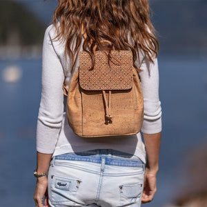 Cork Small Backpack Bucket Style - Cork by Design