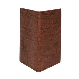 Passport Cover Brown - Cork by Design