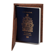 Load image into Gallery viewer, Passport Cover Brown - Cork by Design