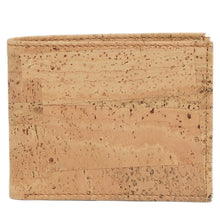Load image into Gallery viewer, Slim Bi-Fold Cork Wallet - Cork by Design