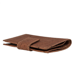 Compact Brown Cork Wallet Cork by Design