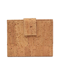 Load image into Gallery viewer, Compact Natural Cork Wallet Cork by Design