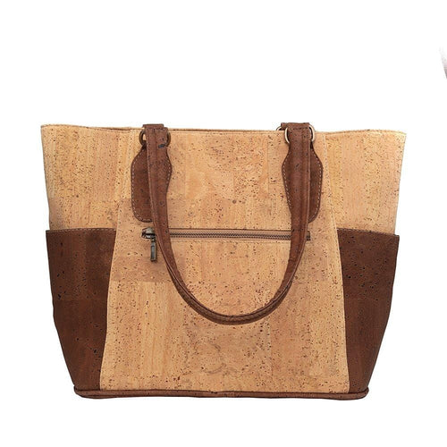 Cork Vegan Tote Handbag - Cork by Design