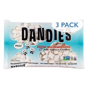 Dandies® Mini Marshmallows (vanilla flavored, vegan)