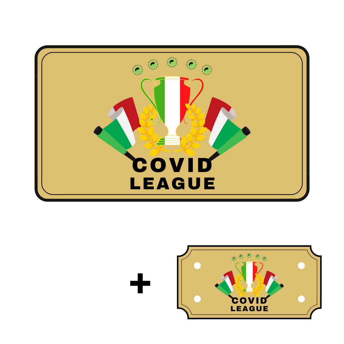 Covidleague club card + Ticket torneo