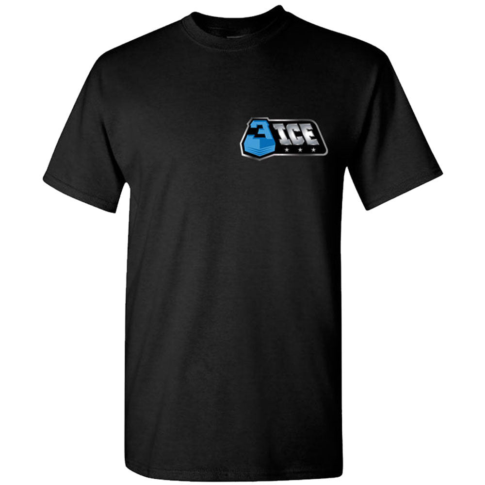 The Best Part Small Logo Black T-Shirt