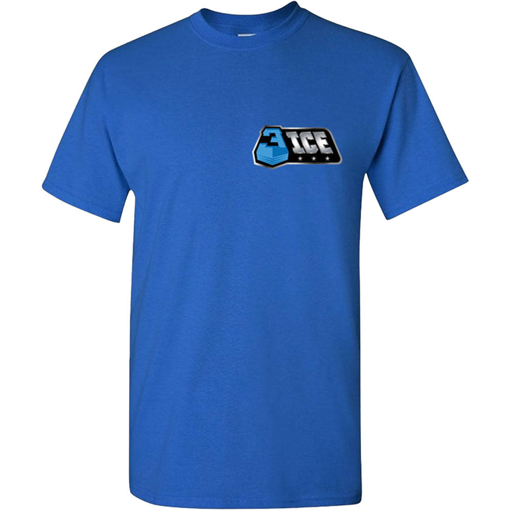 The Best Part Small Logo Royal T-Shirt