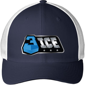 Logo Navy and White Trucker Hat