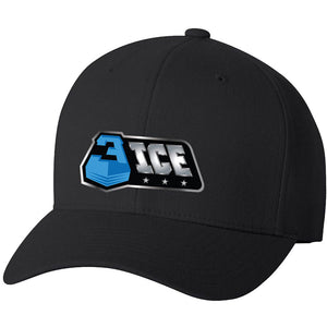 Logo Black Flexfit Hat