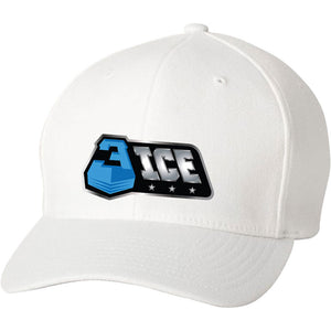 Logo White Flexfit Hat