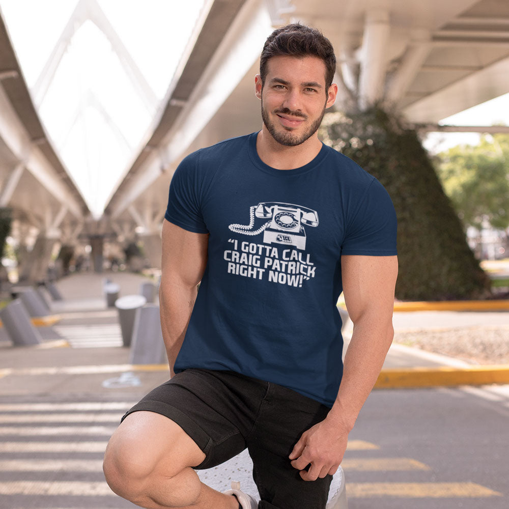 Call Right Now Navy T-Shirt
