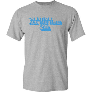 Overtime Block Heather T-Shirt