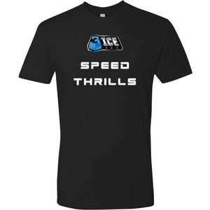Speed Thrills Black T-Shirt