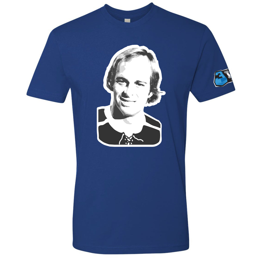 Craig Patrick Portrait Royal T-Shirt