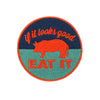 Iron On Pig Patches - Shop Andrew Zimmern - Extra  - 2