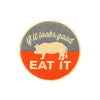 Iron On Pig Patches - Shop Andrew Zimmern - Extra  - 3