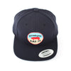 Pig Flat-Brim Hat (Navy) - Shop Andrew Zimmern - Clothing  - 4