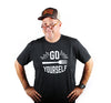 Go Fork Yourself T-Shirt (Unisex-Charcoal) - Shop Andrew Zimmern - Clothing  - 3