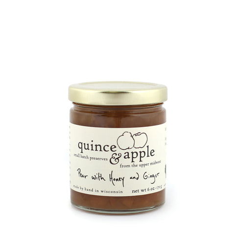 Pear with Honey and Ginger Preserves - Shop Andrew Zimmern - Food  - 1