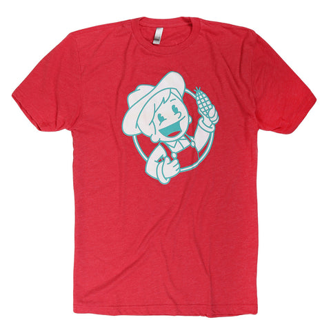 Geechie Boy T-Shirt - Red