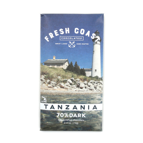 Tanzania Dark Chocolate Bar - Shop Andrew Zimmern - Food  - 1