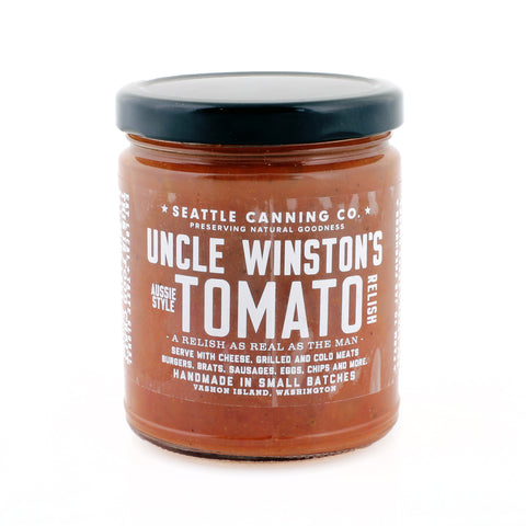 Uncle Winston's Aussie-Style Tomato Relish