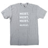 Meat. Meat. Meat. Repeat. T-Shirt - Heather Gray