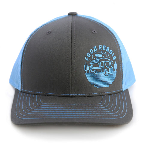 Food Roadie Rambler Trucker Hat - Charcoal