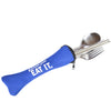 Travel Cutlery Set - Blue Pouch - Shop Andrew Zimmern - Travel  - 1