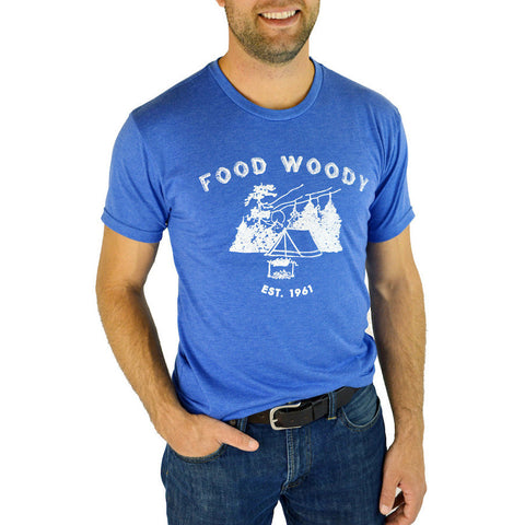 """Food Woody"" T-Shirt - Shop Andrew Zimmern - Clothing  - 1"
