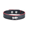 Delicacies Thick Cuts Leather Pig Bracelet - Shop Andrew Zimmern - Accessories  - 1