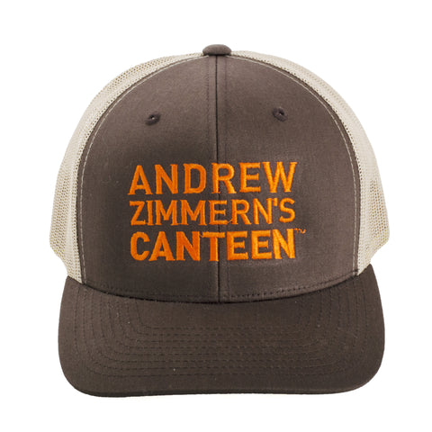 Andrew Zimmern's Canteen Baseball Hat - Shop Andrew Zimmern - Clothing  - 1