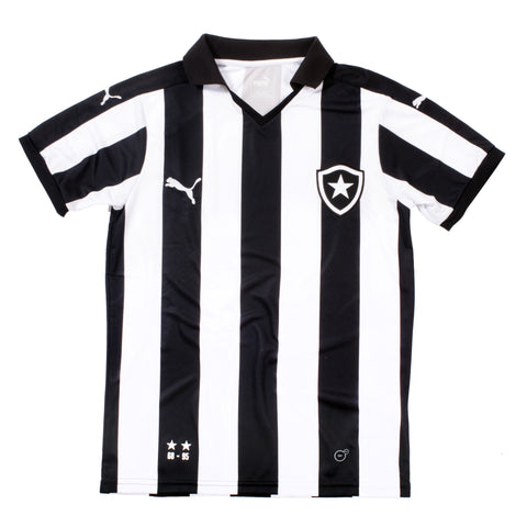 Botafogo Club Jersey from Brazil (Unisex-Black/White Stripe) - Shop Andrew Zimmern - Clothing  - 1