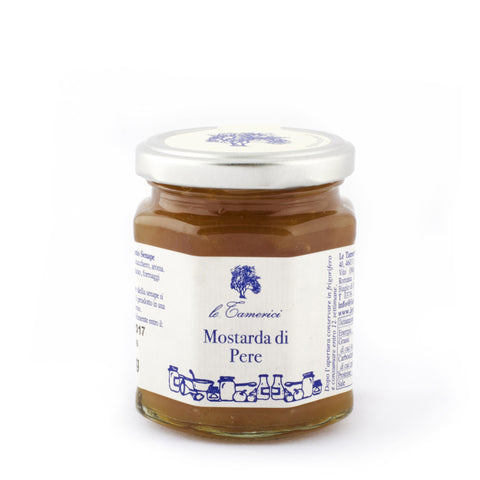 Le Tamerici Mostarda Di Pere from Italy - Shop Andrew Zimmern - Food  - 1