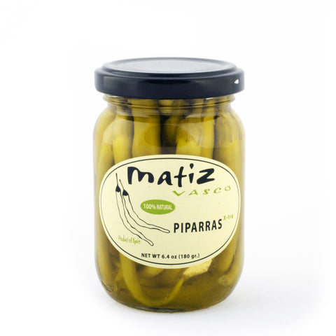 Matiz Piparras Basque Peppers from Spain - Shop Andrew Zimmern - Food  - 1