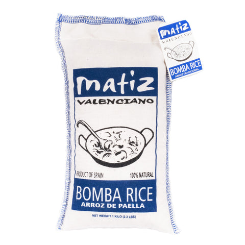 Matiz Valenciano Bomba Rice from Spain - Shop Andrew Zimmern - Food  - 1