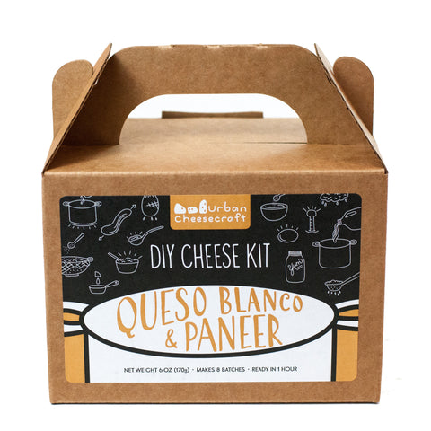 Urban Cheesecraft DIY Kit · Paneer & Queso Blanco - Shop Andrew Zimmern - Food  - 1