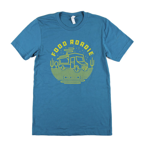 Food Roadie Rambler T-Shirt - Teal