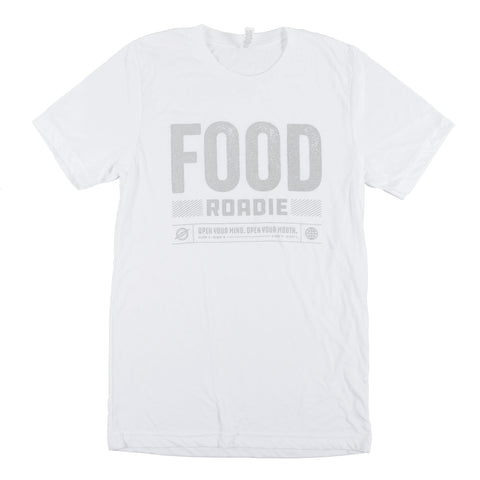 Food Roadie Compass T-Shirt - White