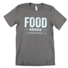 Food Roadie Compass T-Shirt - Gray
